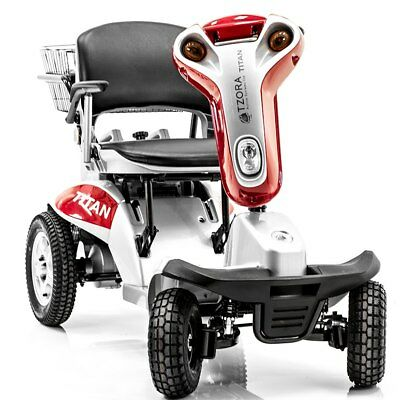 Tzora Hummer XL4 Titan - All Terrain Folding 4-Wheel Electric Mobility Scooter