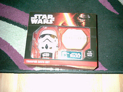 Star Wars Trooper Bath Set / Badeset Geschenk Set