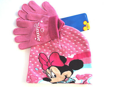 Offerta Set Berretto Guanti Disney Minnie 2/3 Anni  (9470)