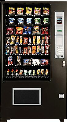 Candy Chip & Snack Vending Machine, AMS 45 Select Vendor +Coin & Bill Changer