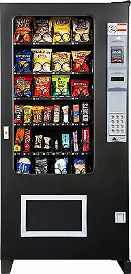 Glass Front Snack Vending Machines 4 Wide Brand New AMS (MADE IN AMERICA!)