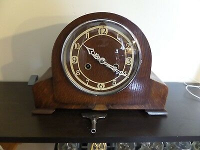 Restored & Serviced Very Early Enfield Mantel Clock      99 Photos Of The Work