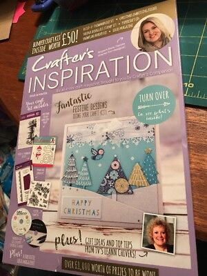 Crafters Companion CRAFTERS INSPIRATION - Issue 14 Summer Edition - £50 FREE KIT