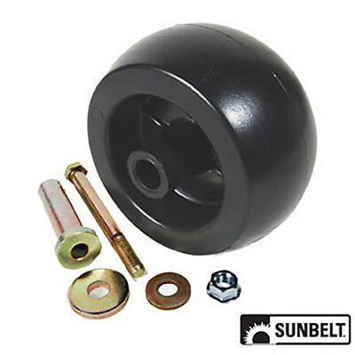 Anti Scalp Deck Roller Wheel Kit with Bolt For Exmark 103-3168 1-603299 68-2730