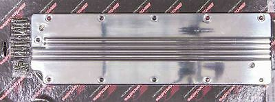 Billet Specialties 95050 VALLEY PLATE LS RIBBCED Polished