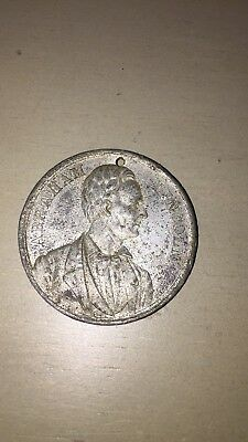 Abraham Lincoln Campaign Medal 1860 Election Choice