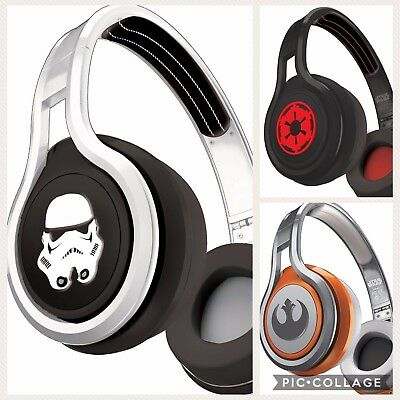 Star Wars Over Ear Kids Headphones NIB SMS Audio STREET 50 First Edition