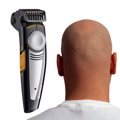 Marske 2 in 1 Electric Hair Clipper Trimmer Beard Foil Shaver Crew Cut Bareheade