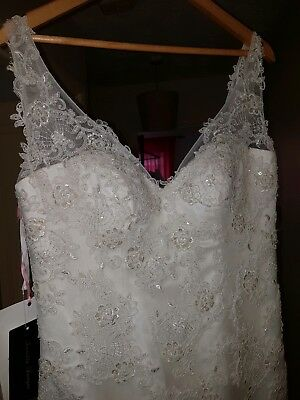 size 16 wedding dress ivory