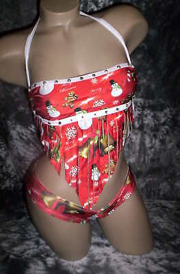 Exotic Dancer Scrunch Shorts Uv Christmas Stoned!