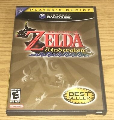 Legend of Zelda The Wind Waker Nintendo GameCube Complete Zelda Wind Waker