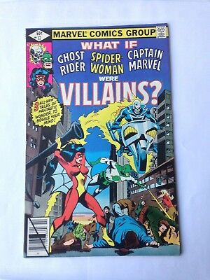 What If? #17 (Oct 1979, Marvel) 8.0VF Ghost Rider! Spider-Woman! Captain Marvel!
