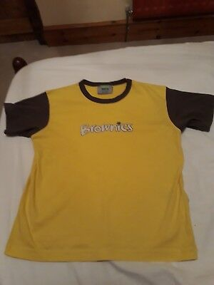 Brownies T-Shirt worn only a couple of times size 30inches