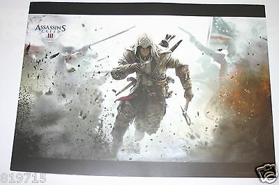 Assassin's Creed Iii Promo Poster On Light Card 33Cmx24Cm From French Games Shop