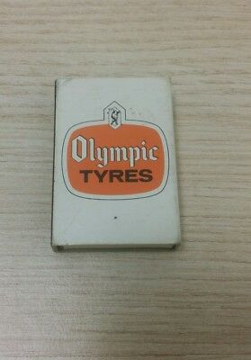 Olympic Tyre Advertising Matchbox