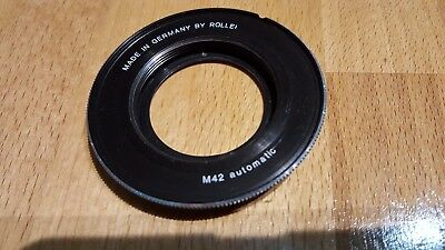 Rollei QBM to M42mm Adaptor