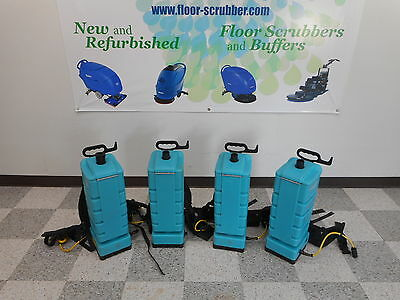 4 Tennant Servicemaster Backpack Commercial Vacuum Cleaner.Back Pack
