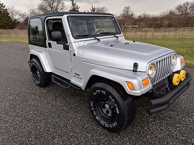 2003 Jeep Wrangler X 🔴2003 Jeep Wrangler X For Sale~Hard Top~CarFax~Low Miles~Manual~Exceptional!!🔴