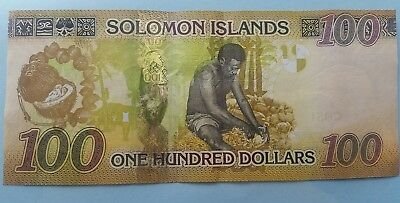 Solomon Islands 100 dollars