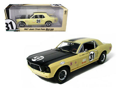 1967 Ford Mustang T/A 31 Jerry Titus Racing Tribute Edition 1/18 Diecast Car Mo