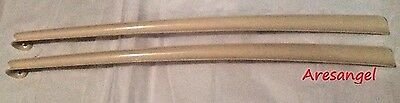 "30"" Shoehorn Durable Easy-Grip Long Handled - Set of 2 Long Shoe Boot Horn"