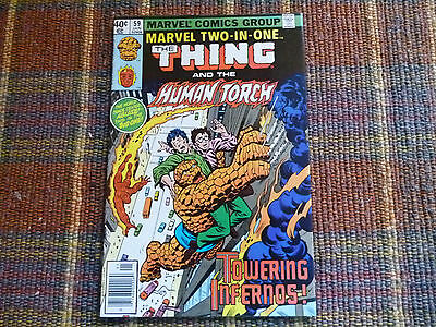 The Thing And The Human Torch #59 (Marvel Jan. 1979) Vf
