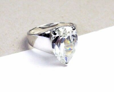 0977b9314 Sterling Silver 925 5 ct Solitaire BELLA LUCE Cubic Zirconia Bridal Size 9  Ring