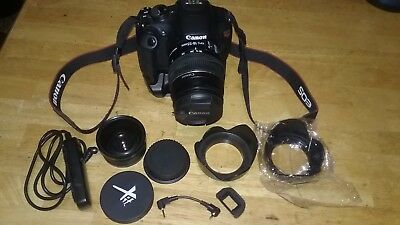 Canon EOS Rebel T5 / EOS 1200D 18.0MP Digital SLR Camera - Black (Kit w/ EF-S IS