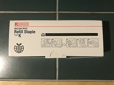 Ricoh PPC Staples Refill Type K 502R-AM 3 Boxes New