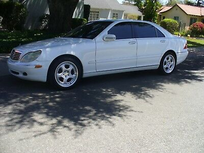 2000 Mercedes-Benz 500-Series White Beautiful California Rust Free Mercedes Benz S500  Great Condition  MUST SEE