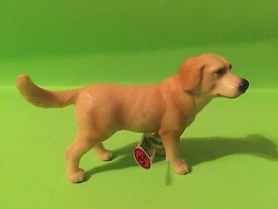 schleich yellow labrador lab retriever new retired rare with tags