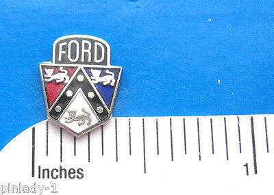 "FORD  logo ""mini-pin"" - hat pin , lapel pin , tie tac , hatpin GIFT BOXED (Sil)"