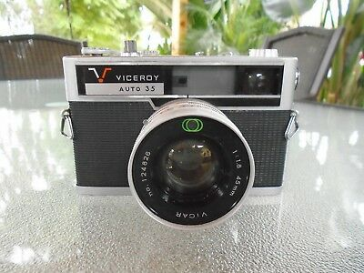 Viceroy Auto 35mm Camera Made in Japan Vintage