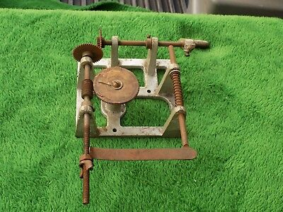 Antique/Vintage Morris Register Co Coil Winder Hand Crank
