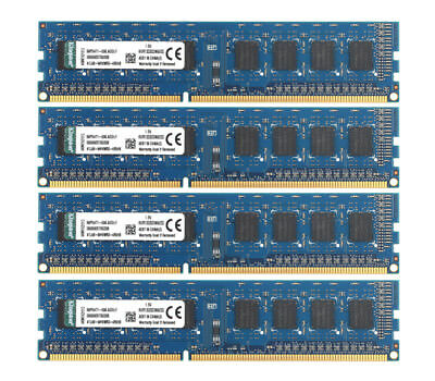 Kingston 8G 4G 2G 1Rx8 DDR3 PC3-10600 1333Mhz DIMM Desktop Memory RAM 240pin Lot
