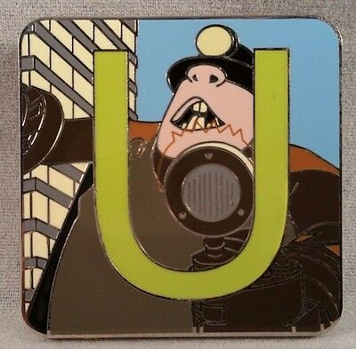 The Incredibles Disney Pixar Alphabet Mystery Collection Underminer Disney Pin