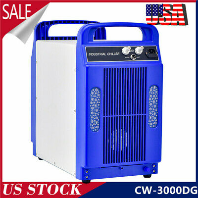 Cw-3000Dg 220V 60/80W Thermolysis Industrial Water Chiller For Co2 Glass Tube