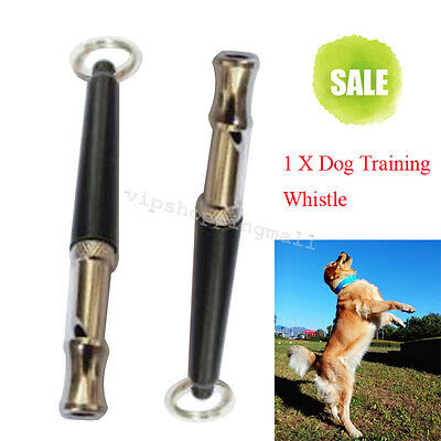 Ultrasonic Sound Pitch Silent Dog Pet Puppy Command Training Whistle Good Tool