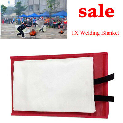 3.9ftX5.9ft Fiberglass Welding Blanket Protect area From Sparks & Splatter Easy