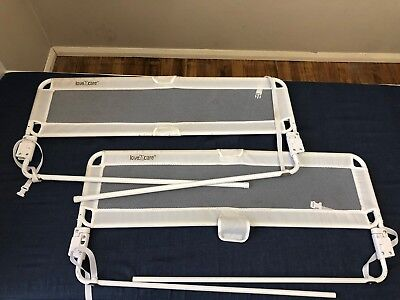 2x Love N Care Safety Bed Rail For Baby Children