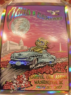 Dead And Company Washington D.C. Poster 11/21/17 Mike Dubois S & N