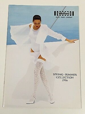 Vintage WOLFORD Spring-Summer Collection 1996 Fashion Catalog