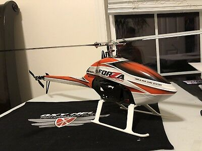 JR Forza 450 3 blades full Combo Rc helicopter