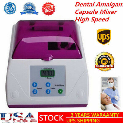 Dental Electric G8 High Speed Amalgamator Amalgam Capsule Mixer Lab Equipment US