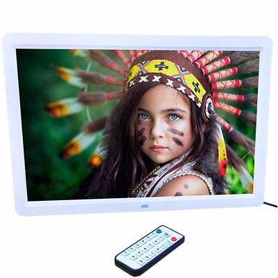 """15"""" 1280*800 LED HD Digital Picture Photo Frame Movie MP4 Player Remote Controll"""