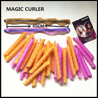 40pcs45cm long Hair Curlers for Long Hair No Heat Cheap Hot Tools-- High quality