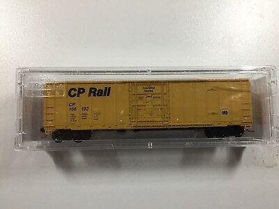 "N Scale 50' Box Car ""CP Rail"""