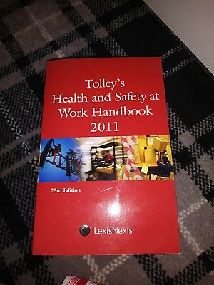 Tolley's Health and Safety at Work Handbook: 2011 by LexisNexis UK (Paperback, …