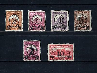 HUNGARY _ 1931-33 'SURCHARGE' 6 _ used ___(509)