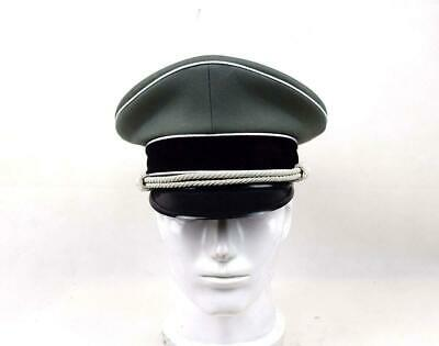 Military WWII German Elite Whipcord Officer Hat Officer Cap  57 58 59 60 Cm